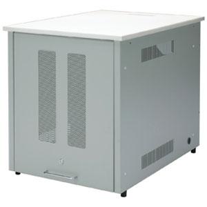 サンワサプライ 19インチマウント付デスク 11U 総耐荷重100kg 鍵付き DSK-SV1N