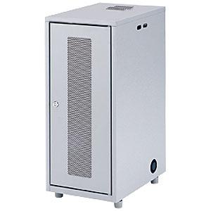 サンワサプライ NAS・HDD・ネットワーク機器収納ボックス 高さ700mm 総耐荷重50kg 鍵付き CP-KBOX3