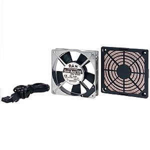 サンワサプライ 放熱ファン 低速静音タイプ CPシリーズ用 山洋電気製追加ファン 屋内用 CP-SFANS-T