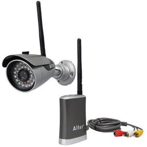 キャロットシステムズ かんたん無線カメラ 30万画素 デイ&ナイトフィルター搭載 IP65相当 壁面取付 AT-6130