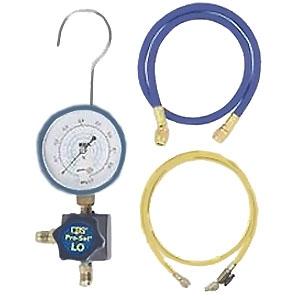BBKテクノロジーズ 1WAYマニホールドキット 低圧側用 ダイヤフラムタイプ チャージングホース付 45-LCM
