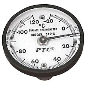 BBKテクノロジーズ 磁石付表面温度計 マグネット2個付 312-C