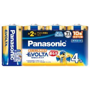 パナソニック 【ケース販売特価 120本セット(4本入×30)】アルカリ乾電池 《EVOLTA》 単2形 シュリンクタイプ LR14EJ/4SW_30set