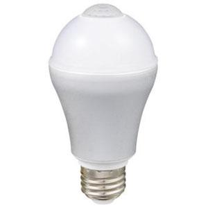 ルミナス 【ケース販売特価 6個セット】 LED電球 人感センサータイプ 直下重視タイプ 電球色 40W形相当 全光束502lm E26口金 LVA40L-HS_set