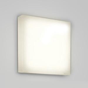 オーデリック LED一体型バスルームライト FCL30W相当 四角型 防雨・防湿型 壁面・天井面・傾斜面取付兼用 電球色タイプ OG254308