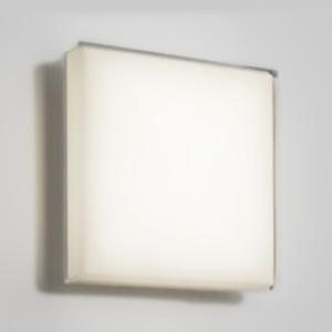 オーデリック LED一体型バスルームライト FCL30W相当 四角型 防雨・防湿型 壁面・天井面・傾斜面取付兼用 電球色タイプ OW269024