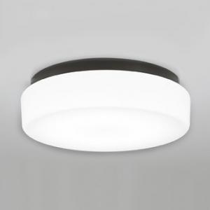 オーデリック LEDバスルームライト FCL30W相当 防雨・防湿型 壁面・天井面・傾斜面取付兼用 昼白色タイプ 黒色 OW269012ND