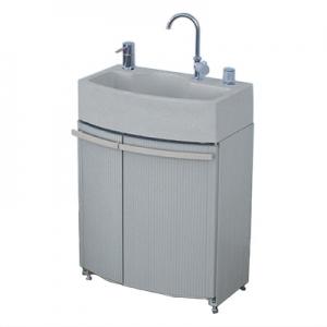 KVK ガーデンドレッサー 給水接続専用 収納部グレー色 KWT-2GR