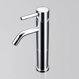 KVK 洗面用シングルレバー式混合栓 ロングボディ 一般地・寒冷地共用 逆止弁なし 銅管仕様 《LFM612シリーズ》 LFM612-108