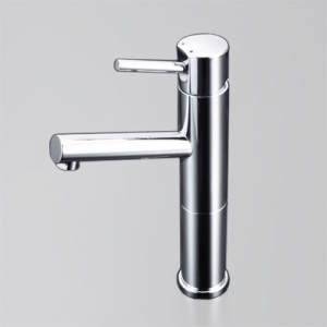 KVK 洗面用シングルレバー式混合栓 ロングボディ 一般地専用 逆止弁なし 銅管仕様 《LFM612シリーズ》 LFM612-128