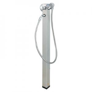 KVK 混合水栓柱・シャワー仕様 高さ1200mm LFMS902L