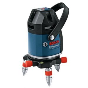 BOSCH レーザー墨出し器 水平4ライン・垂直4ライン・鉛直・地墨 電子整準方式 受光器・キャリングケース付 GLL8-40ELR