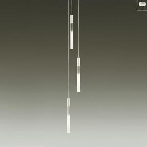 DAIKO LEDペンダントライト 《thinシリーズ》 白熱灯60W×3灯相当 非調光タイプ 22W φ3.8細コード使用 電球色タイプ 白 DCH-39491Y
