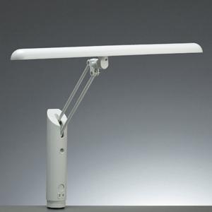 山田照明 直管蛍光灯スタンドライト クランプ/ベース式 人感センサー FHF24形 昼白色 ホワイト 《Zライト》 Z-3500W