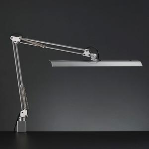 山田照明 LEDスタンドライト クランプ式 白熱灯150W相当 調光機能付 シルバー 《Zライト》 Z-11NSL