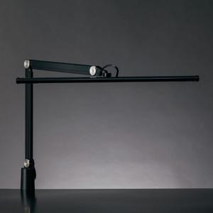 山田照明 大型LEDスタンドライト クランプ式 白熱灯150W相当 調光機能付 ブラック 《Zライト》 Z-S5000B