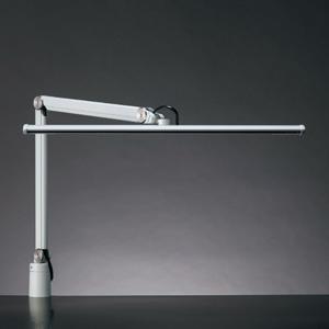 山田照明 大型LEDスタンドライト クランプ式 白熱灯150W相当 調光機能付 ホワイト 《Zライト》 Z-S5000W