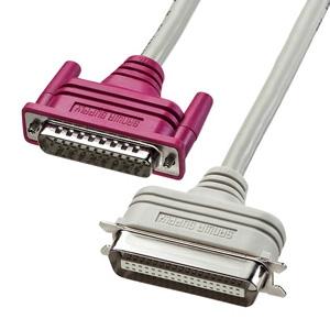 サンワサプライ プリンタケーブル 新色追加して再販 D-sub25pin KP-DV2K 2m 即出荷 IEEE1284