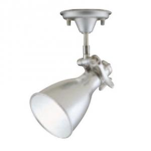 オーデリック LEDスポットライト ミニクリプトンレフ形 5.4W フレンジタイプ 電球色(2700K) 光束335lm 配光角59° アルミダイカスト(磨き) OS047255LD