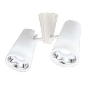 オーデリック LEDスポットライト 一般形 5.7W フレンジタイプ 白熱灯60W×2灯相当 昼白色(5000K) 光束412lm 配光角58° 樹脂(乳白) OS256199ND