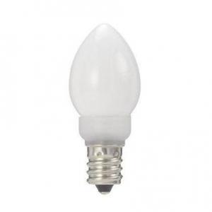 ヤザワ ローソク形LEDランプ ホワイト 全光束:21lm 5W相当 電球色相当 公式通販 E12口金 保障 LDC1LG23E12W