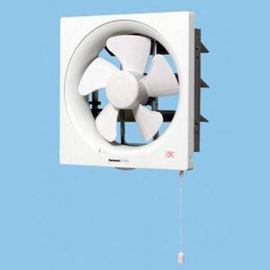 パナソニック 一般換気扇 台所用 スタンダード形 連動式シャッター(引き紐式スイッチ) 羽根系:25cm FY-25P5