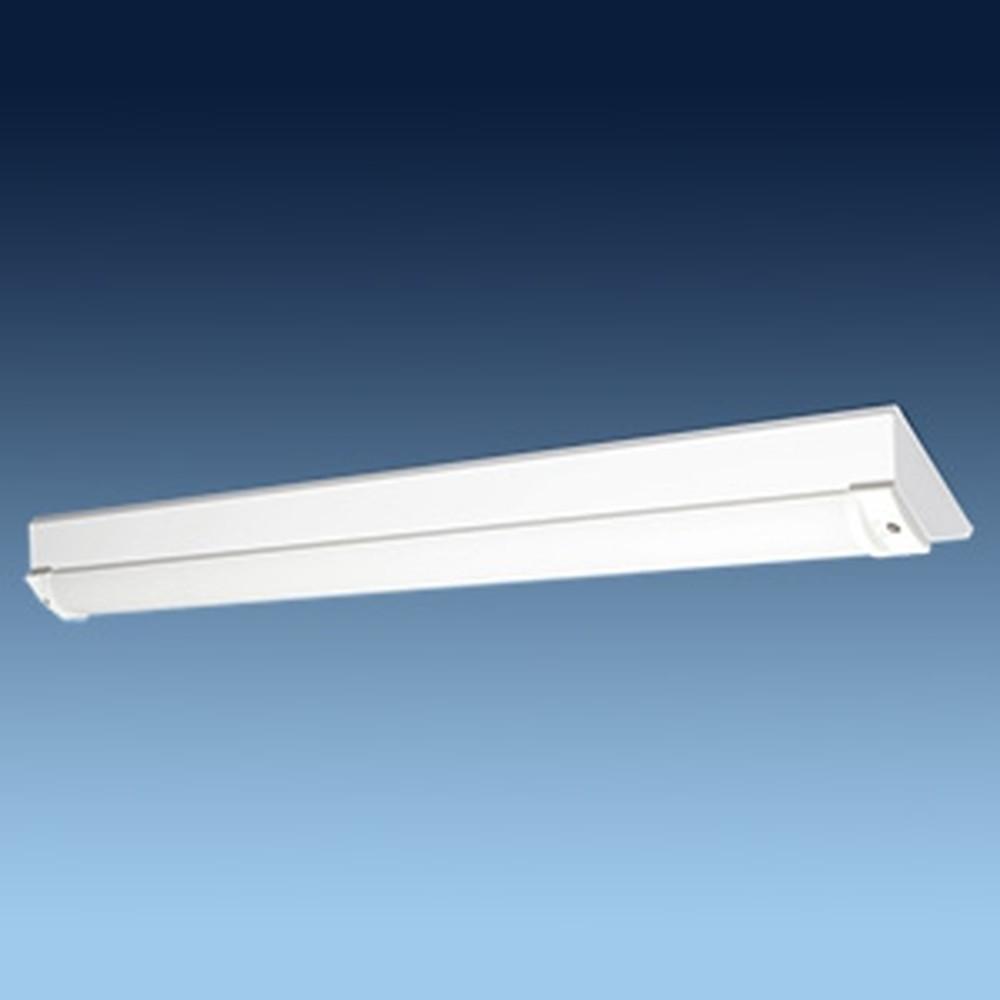 日立 交換形LEDベースライト 《スマートユニット》 40形 直付形 逆富士形 幅160mm 防湿・防雨形 4400lmタイプ FHF32形×2灯器具相当 昼光色 WGN4A1+WGE404DE-N14A1