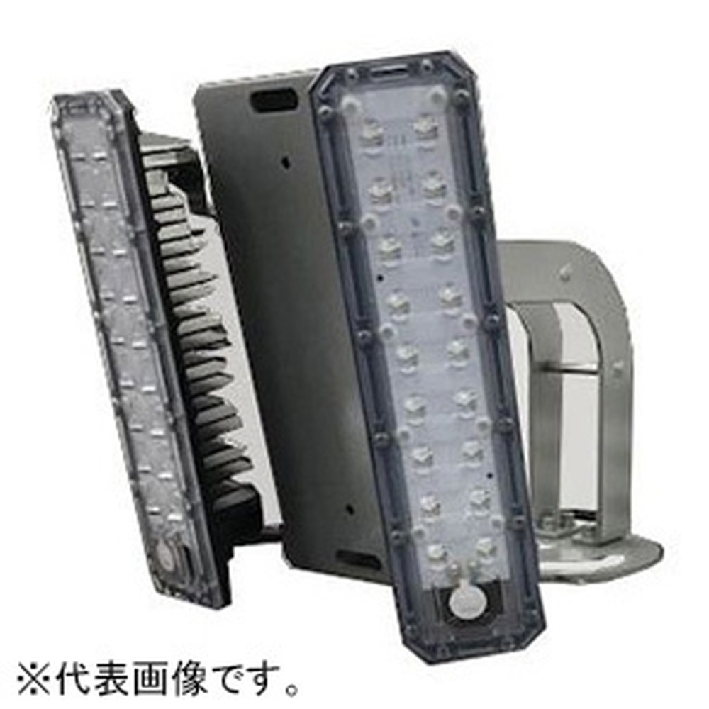 濱田プレス工藝 外灯用照明 2連式 防水型 ポールホルダータイプ 全光束10000lm 配光角139° HLD002-C60-SS-P