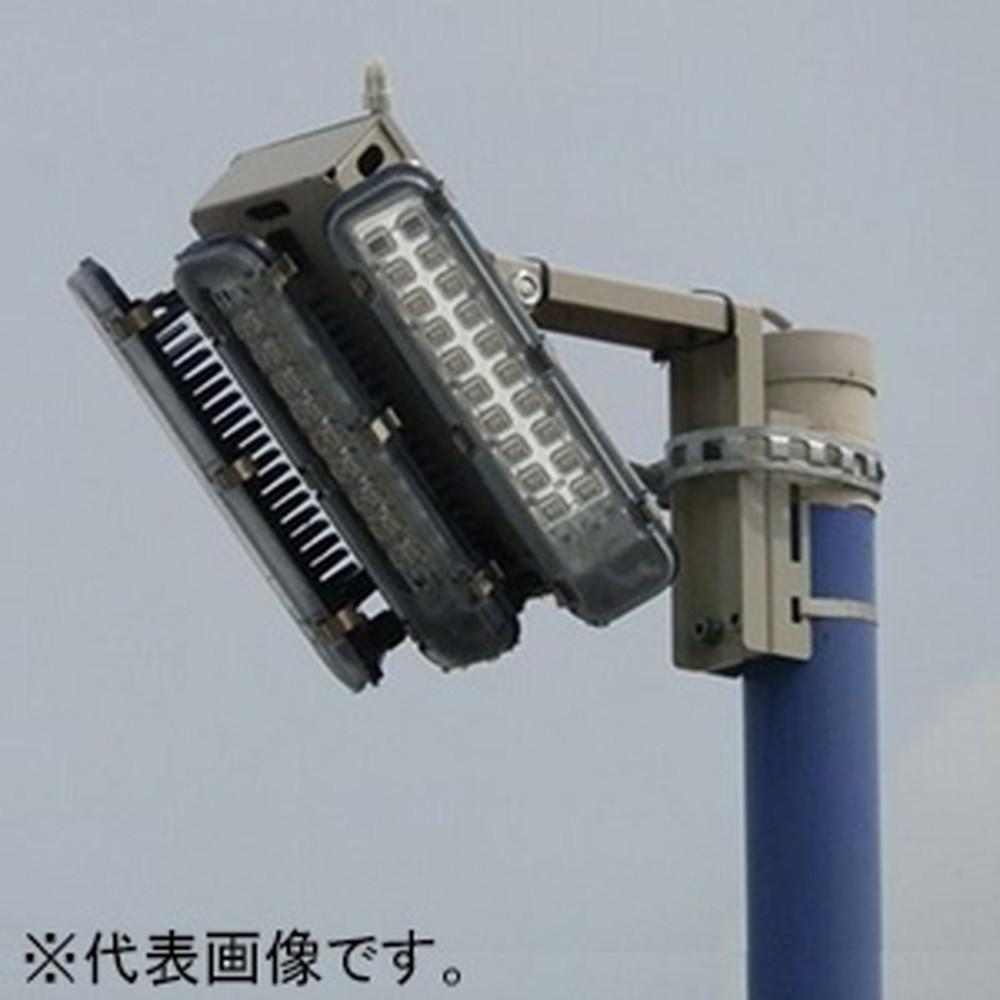 濱田プレス工藝 外灯用照明 3連式 防水型 ポールホルダータイプ 全光束15000lm 配光角139° HLD003-C60-SS-P