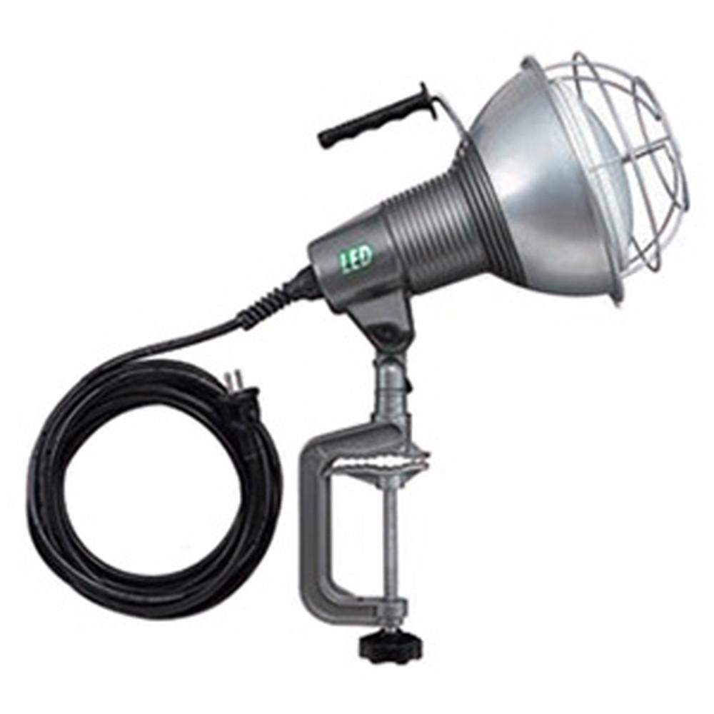 ハタヤ LED作業灯 屋外用 42W 広角タイプ ビーム角110度 昼白色 電線長5m バイス付 RXL-5W
