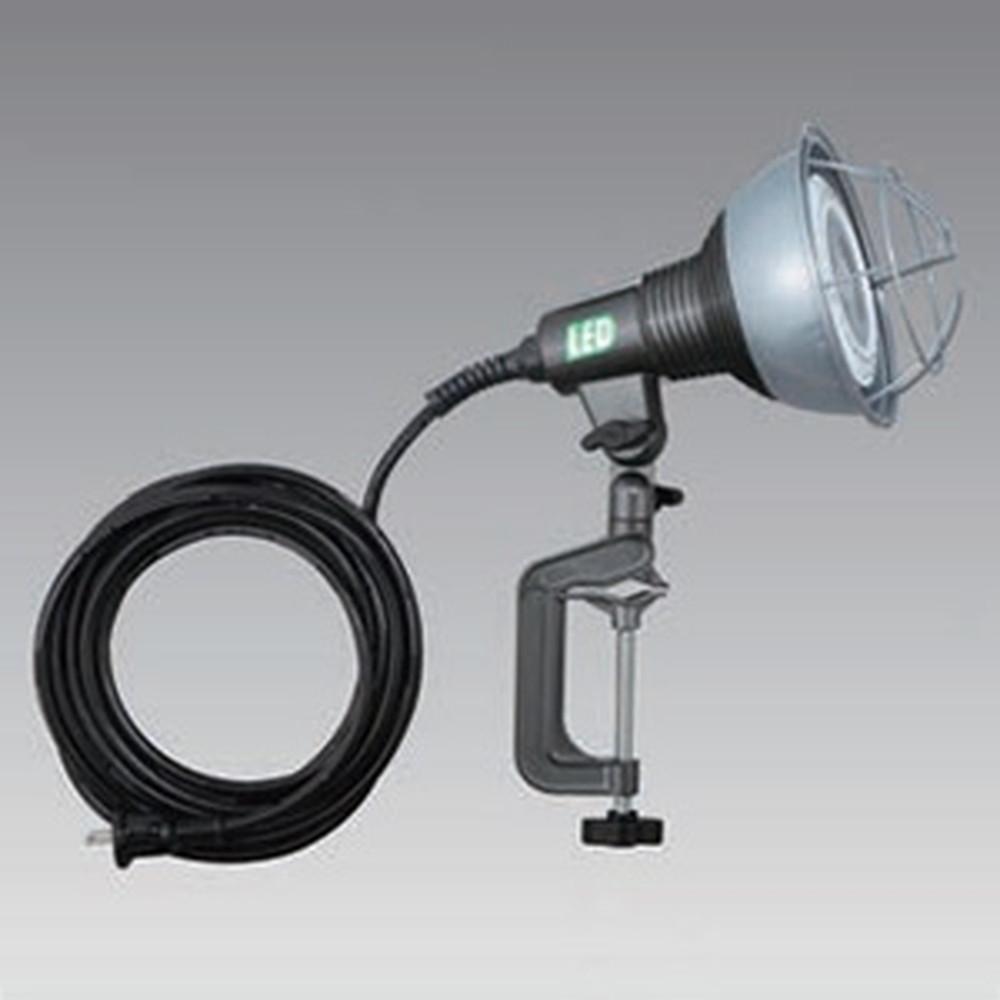 ハタヤ LED作業灯 屋外用 20W ビームランプタイプ ビーム角60度 電球色 電線長5m バイス付 RGL-5L