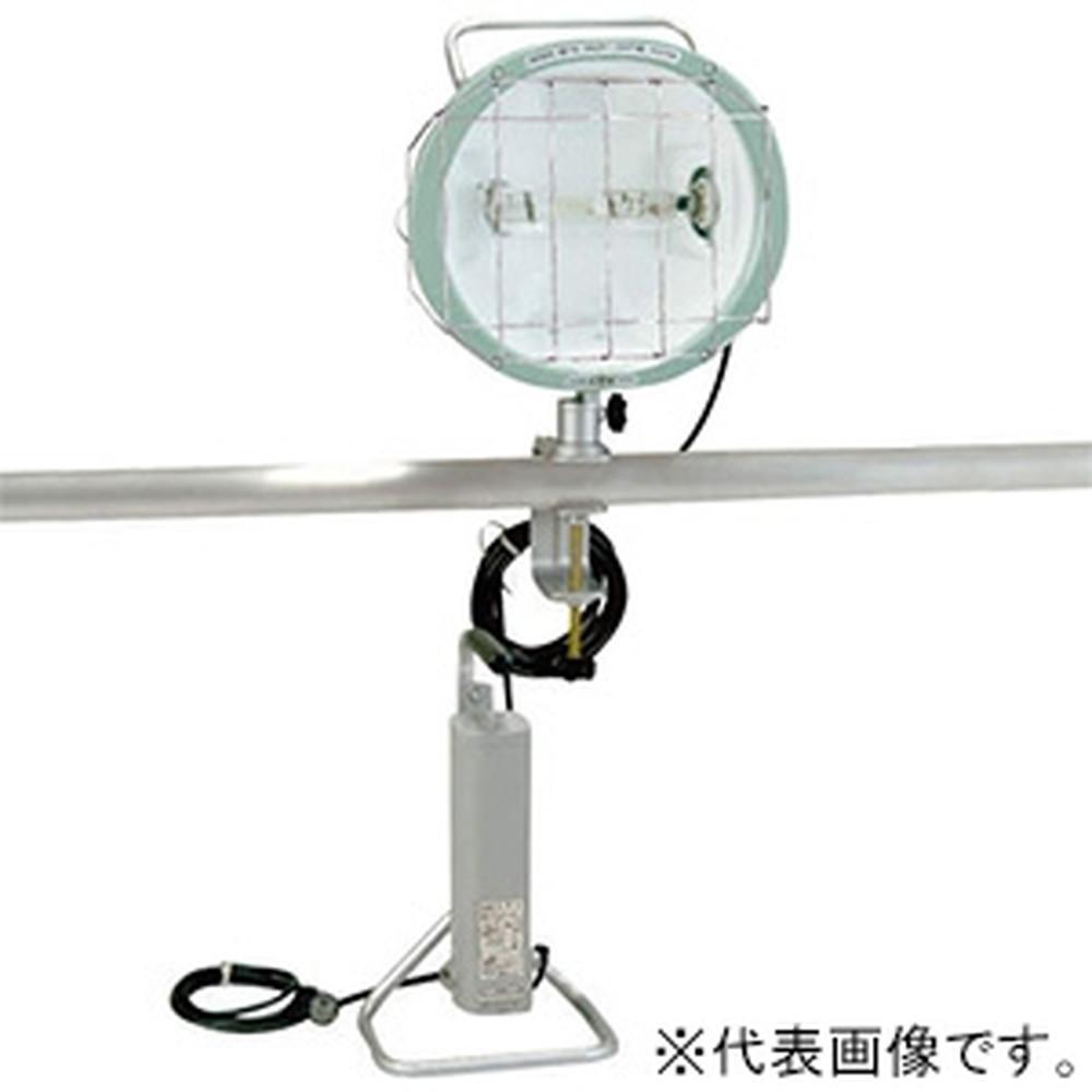 ハタヤ 400W型メタルハライドライト 50Hz用 屋外用 接地付 電線長5m バイス付 MLV-405K(50Hz)