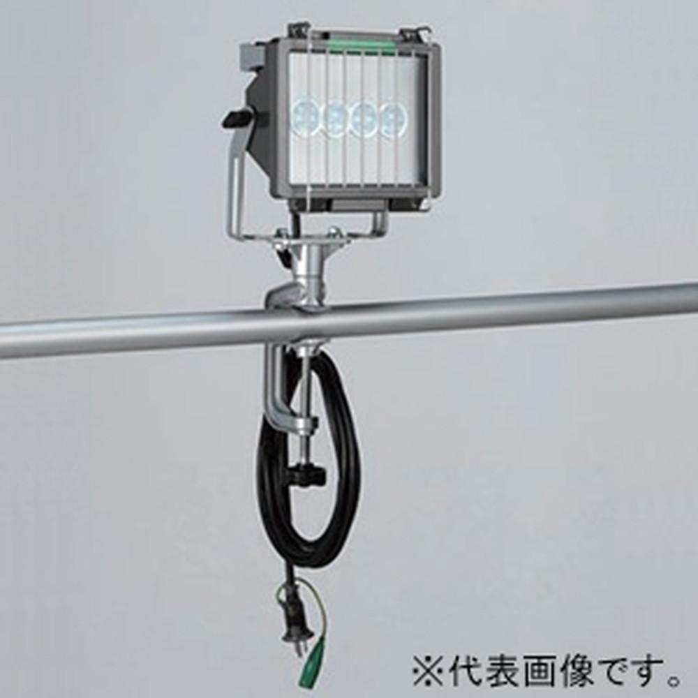 ハタヤ LED投光器 バイス取付タイプ 屋外用 30W高輝度LED 昼光色 接地付 電線長5m LET-305K