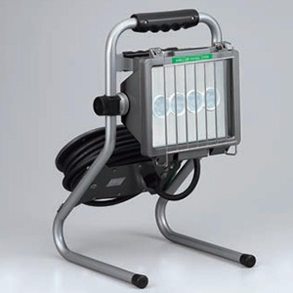 ハタヤ LED投光器 ドラムスタンドタイプ 屋外用 30W高輝度LED 昼光色 接地付 電線長7m LDS-307K