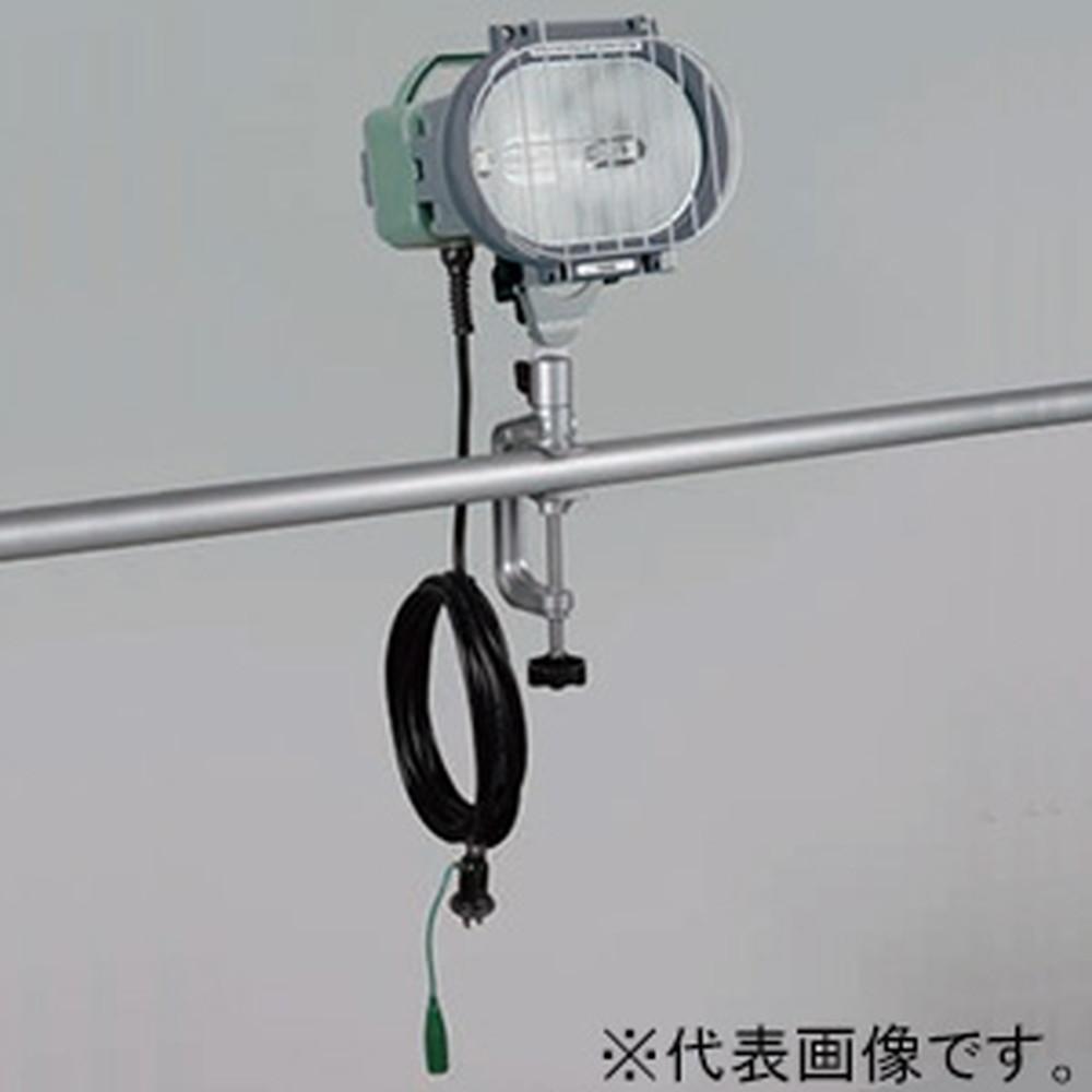 ハタヤ 150W型メタルハライドライト バイス取付型 瞬時再点灯型 屋外用 接地付 電線長5m MLV-105KH