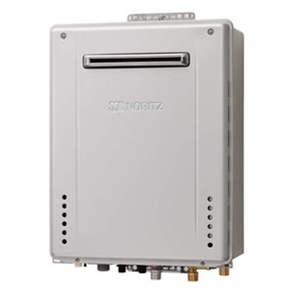 ノーリツ ガスふろ給湯器 《エコジョーズ》 設置フリー形 20号給湯タイプ シンプルタイプ 壁掛形 PRO-TECメカ搭載 集合住宅向け PS標準設置形 給水・給湯接続R3/4(20A) ガス種12A・13A GT-C2062SAWX-PSBL20A12A13A