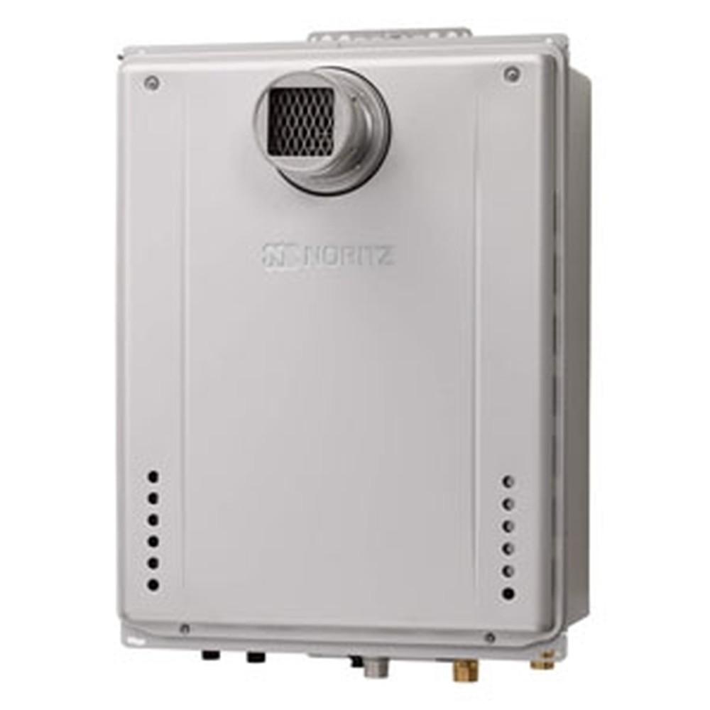 ノーリツ ガスふろ給湯器 《エコジョーズ》 設置フリー形 20号給湯タイプ シンプルタイプ 壁掛形 PRO-TECメカ搭載 集合住宅向け PS扉内設置形 給水・給湯接続R3/4(20A) ガス種LPG GT-C2062SAWX-TBL20ALPG