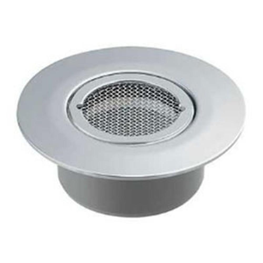 カクダイ ツバヒロ防虫目皿 接着式 VP・VU管兼用 呼び150 ネジ止めタイプ 400-234-150