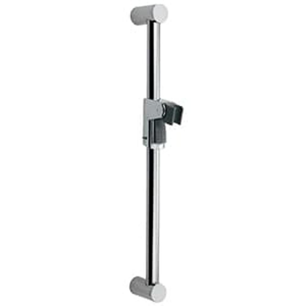 カクダイ シャワースライドグリップバー 対応壁厚44mm以下・垂直設置手すり兼用 全長677.5mm 358-205
