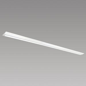 NEC LED一体型ベースライト 《Nuシリーズ》 110形 直付形 逆富士形 230mm幅 一般タイプ 10000lmクラス 固定出力方式 FLR110×2灯相当 昼白色 MVB8121/10HN21-N5