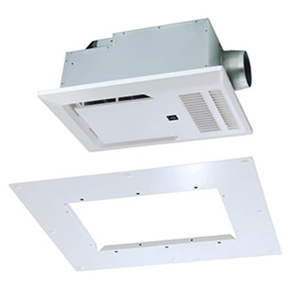 MAX 浴室暖房・換気・乾燥機 浴室天井アダプタセット 《ドライファン》 リフォーム専用機 1室換気タイプ 浴室天井埋込型 AC100V専用 プラズマクラスター機能付 開口寸法285×410mm BRS-C101HR-CX+BRS-CA01R