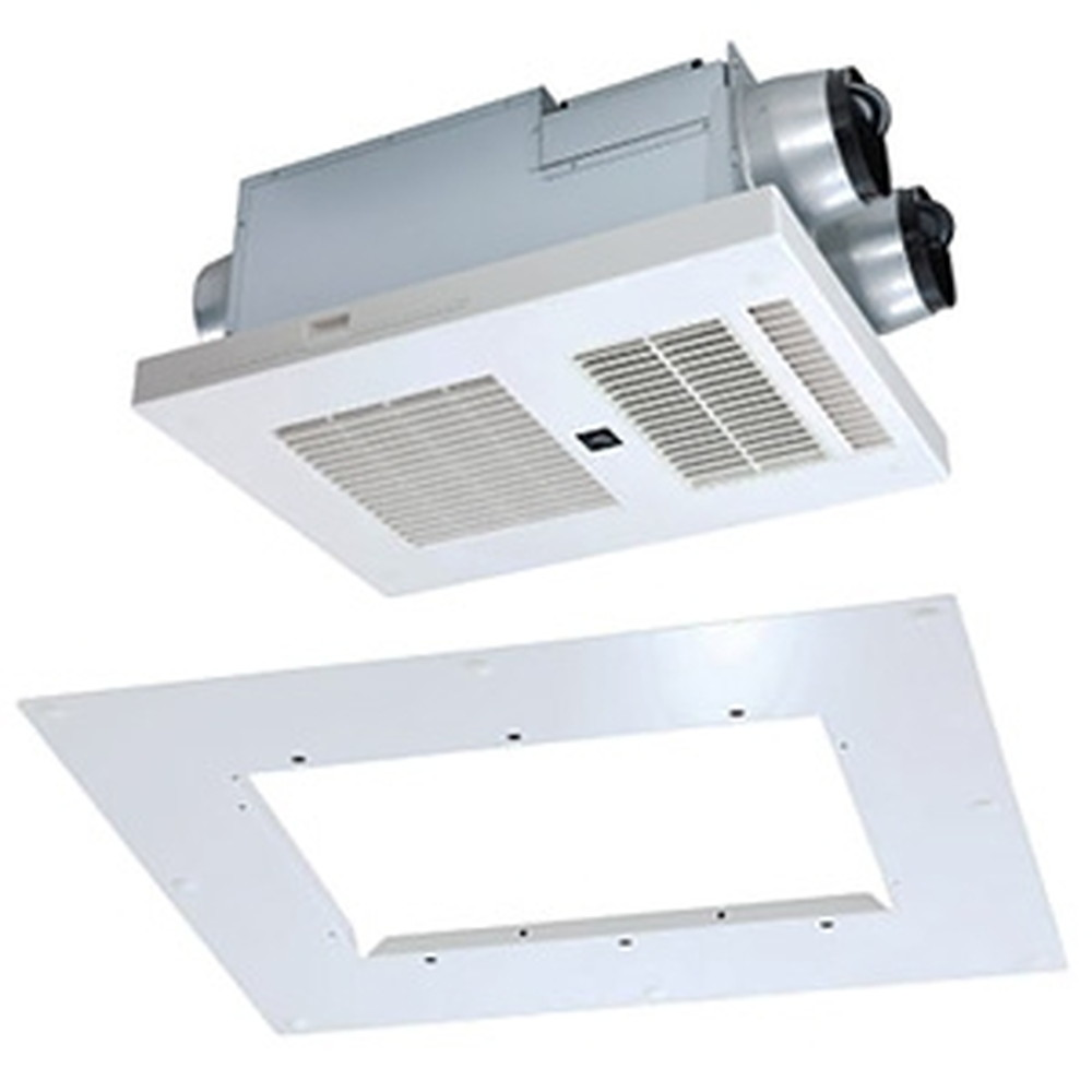 MAX 浴室暖房・換気・乾燥機 浴室天井アダプタセット 《ドライファン》 リフォーム専用機 3室換気タイプ 浴室天井埋込型 AC100V専用 プラズマクラスター機能付 開口寸法285×410mm BRS-C103HR-CX+BRS-CA01R