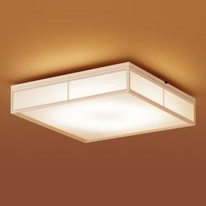 パナソニック LEDシーリングライト 和風タイプ ~10畳用 天井直付型 調光・調色タイプ 昼光色~電球色 リモコン付 LSEB8021K