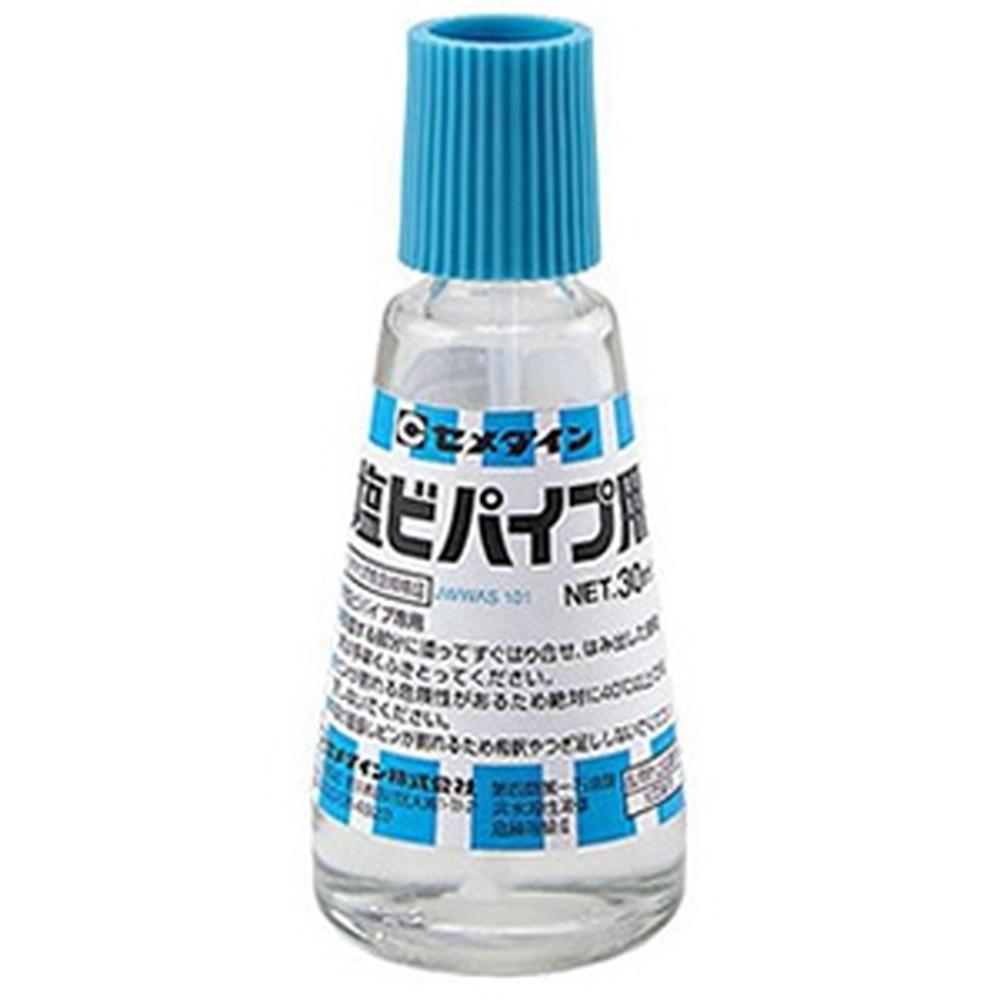 セメダイン 【ケース販売特価 240個セット】 塩ビパイプ用接着剤 ビン入 容量30ml CA-123_set