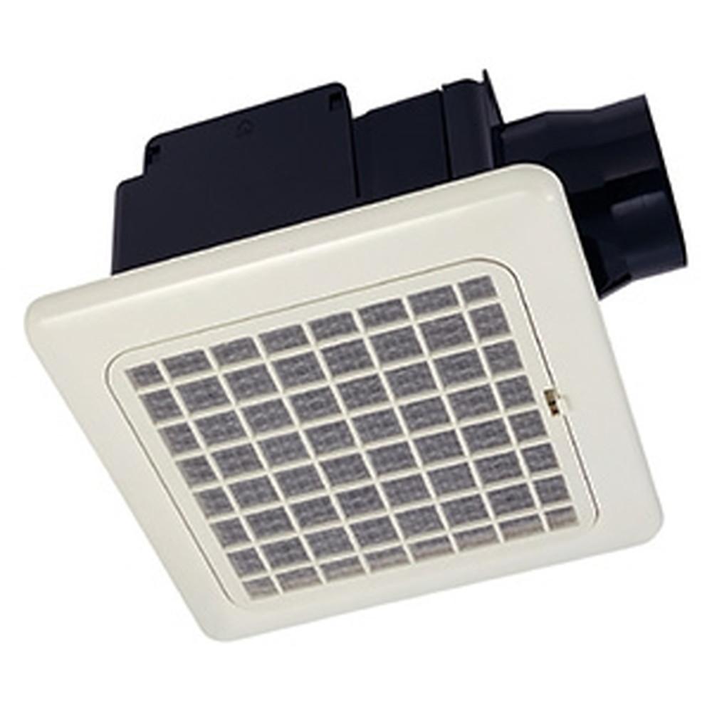 MAX 天井埋込型換気扇 ダクト式 1室用 常時換気用 開口寸法225×225mm ワンタッチ着脱フィルター付 VF-C22KC1