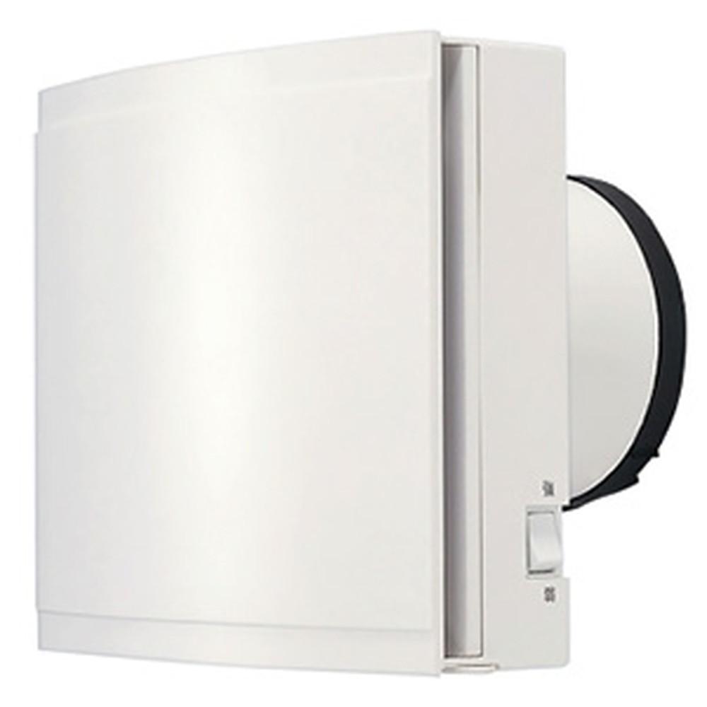 MAX 強制給気ファン 壁付タイプ 常時換気用 強弱型 結露対策型 高性能フィルター φ100用 左右回転式シャッター付 VF-Q08E1GL