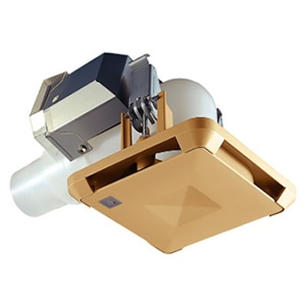 MAX 角型給気グリル エルボ・曲タイプ プラズマクラスター技術搭載 風量調節機構付 茶 ES-50KLB3-CX