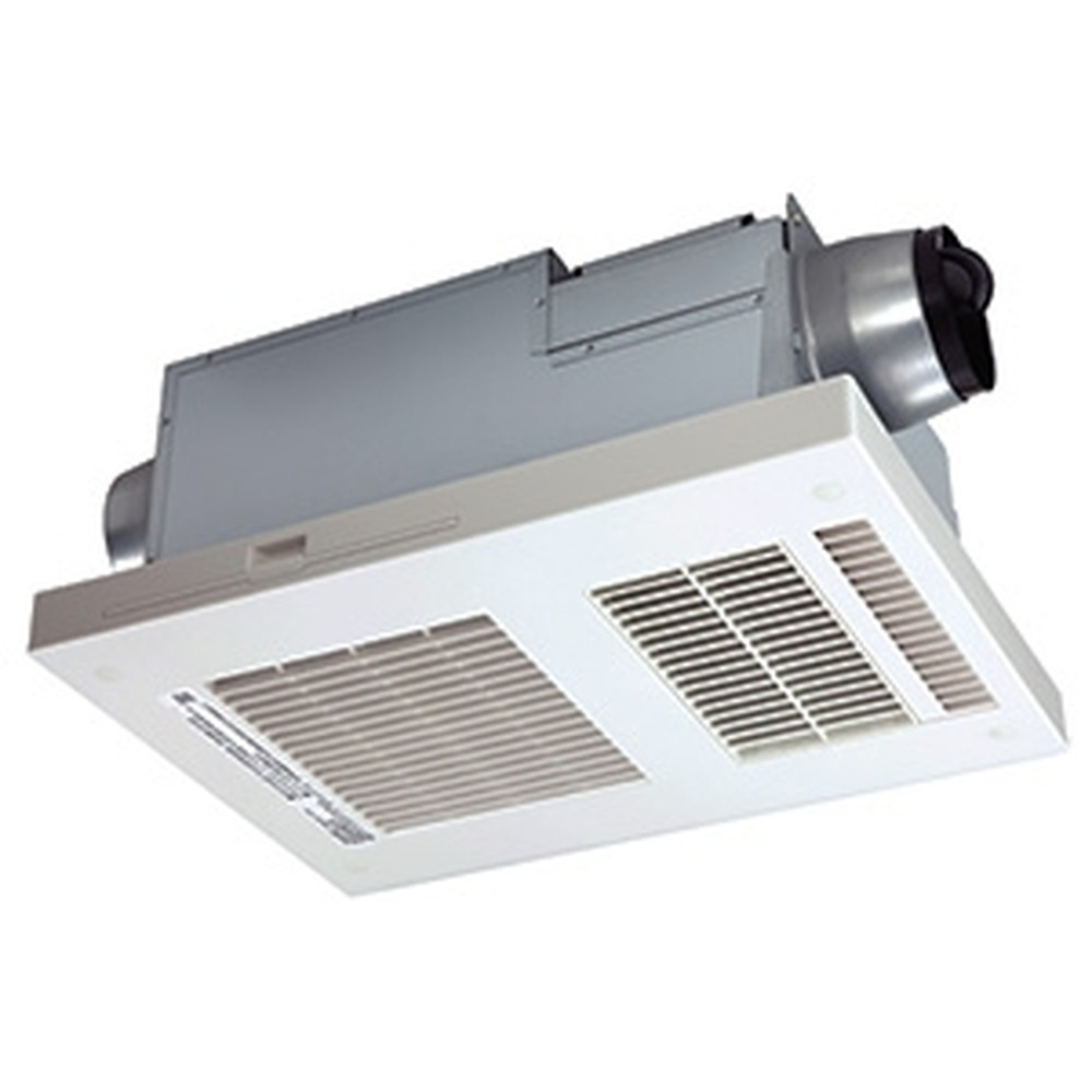 MAX 浴室暖房・換気・乾燥機 《ドライファン》 2室換気タイプ 集合住宅用 天井直付けタイプ AC100V専用 開口寸法285×410mm 換気設定4段階 BS-132EHA