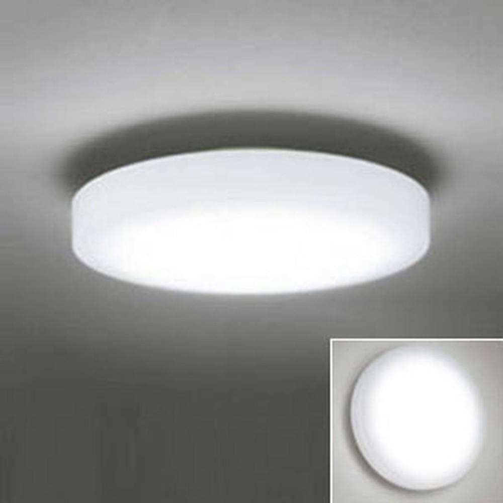 オーデリック LED小型シーリングライト 壁面・天井面・傾斜面取付兼用 FCL30W相当 電球色 非調光タイプ OL251273