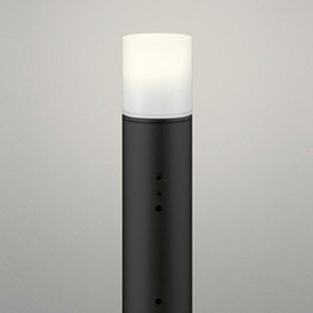 オーデリック LEDガーデンライト 防雨型 白熱灯60W相当 電球色 明暗センサー付 地上高600mm 黒 OG043414LD
